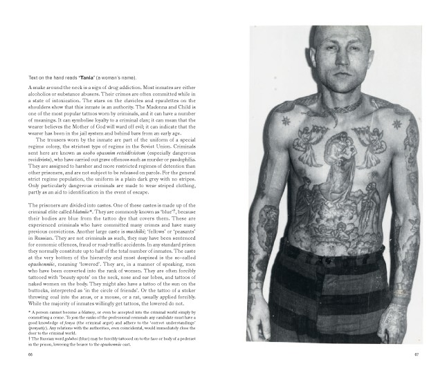 The Meanings Behind this Russian Man's Tattoos.