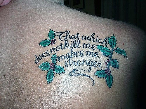 Tattoo Quotes My Tattoo Meanings