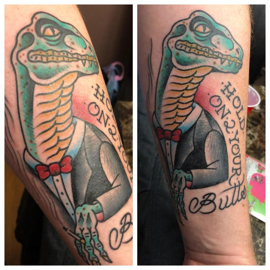 Jurassic park quote tattoo