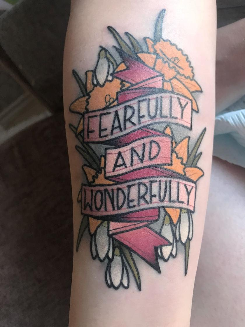 Pslam 139:14 tattoo quotes