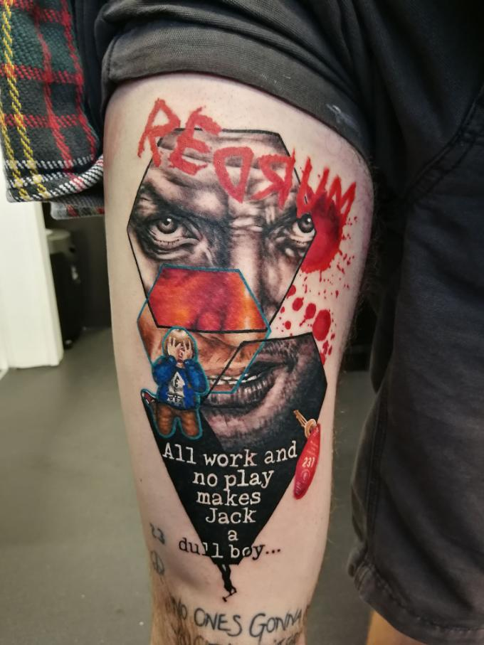 the shining tattoo quotes