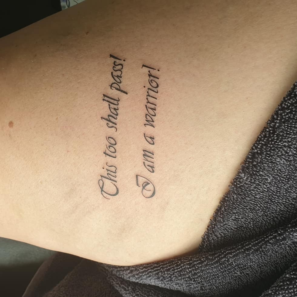 strength tattoo quotes