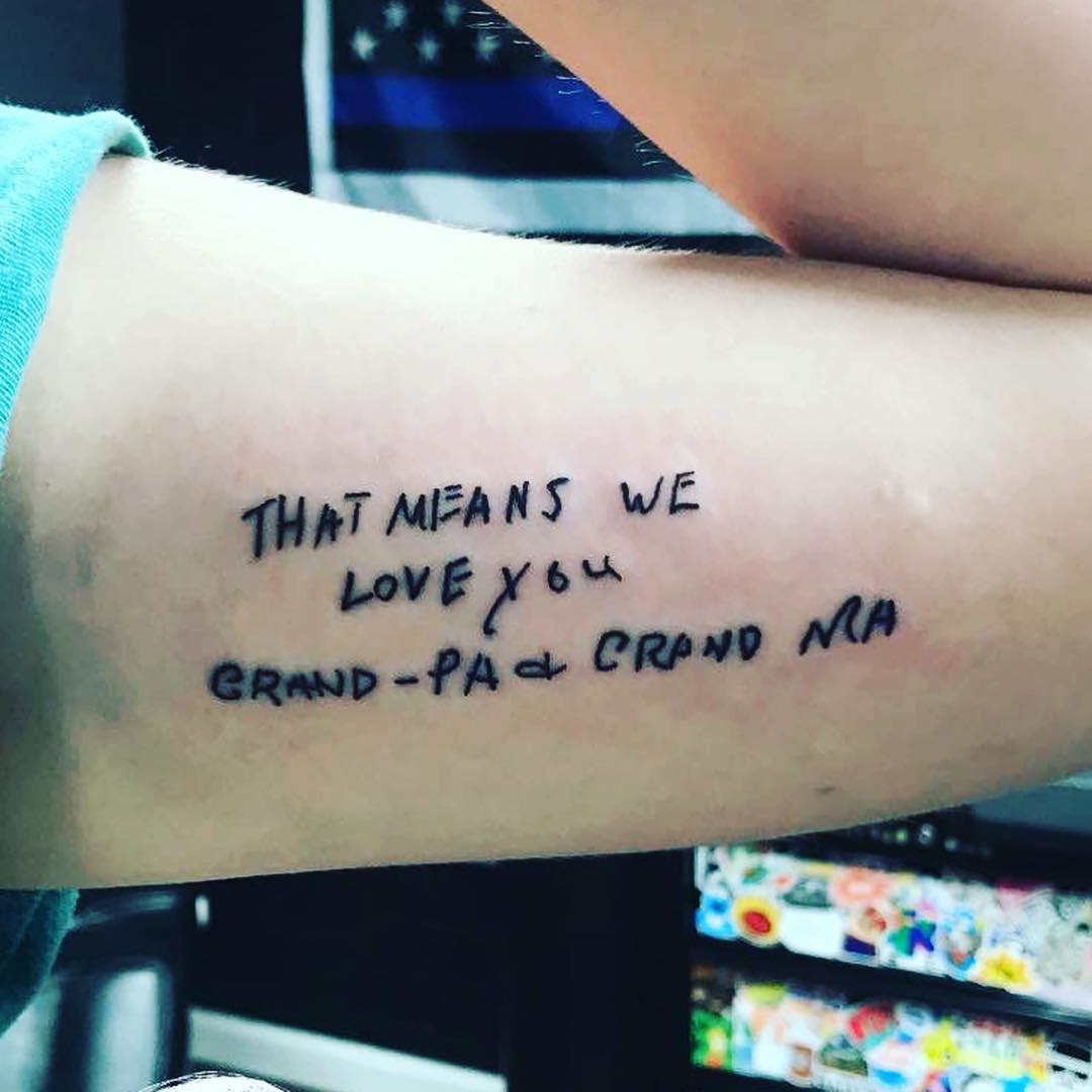 tattoo quotes about family